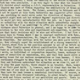 Letter : 1923 June 25