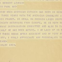 Telegram : 1942 July 3
