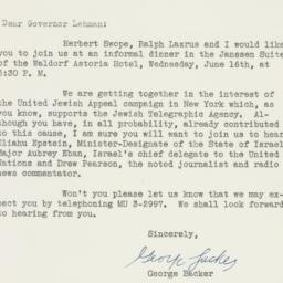 Letter : 1948 June 7