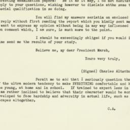 Letter : 1927 January 29