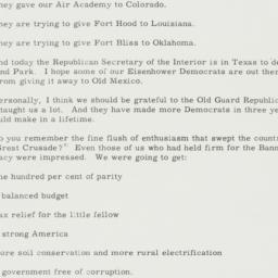 Speech: 1955 November 21