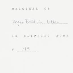Letter : 1953 February 10