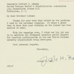 Letter : 1944 November 13