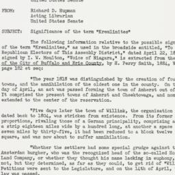 Memorandum : 1951 May 16