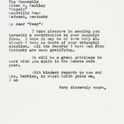 Letter : 1954 September 27