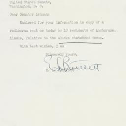 Letter : 1950 November 30