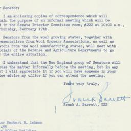 Letter : 1955 February 12
