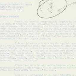 Letter: 1955 December 12
