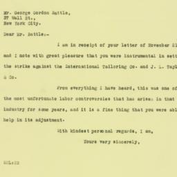 Letter : 1925 November 24