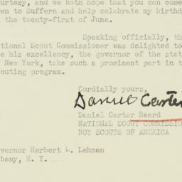 Letter : 1936 April 22