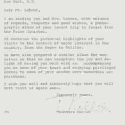 Letter : 1959 July 22