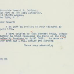 Letter: 1941 April 16