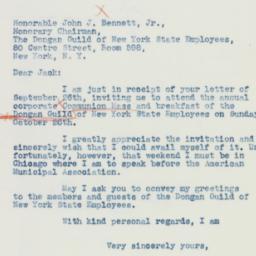 Letter: 1941 October 6