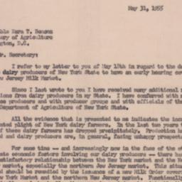 Letter : 1955 May 31