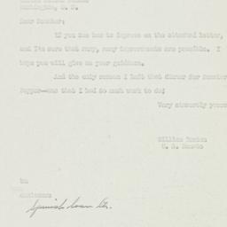 Letter: 1950 August 21