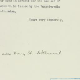 Letter: 1952 April 4