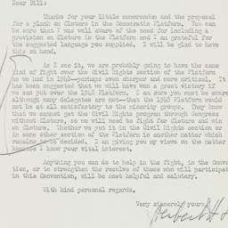 Letter: 1952 July 9