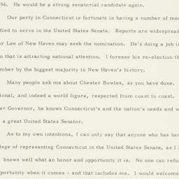 Manuscript: 1957 September 5