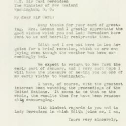 Letter: 1946 December 27