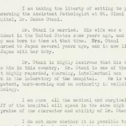 Letter: 1937 February 15