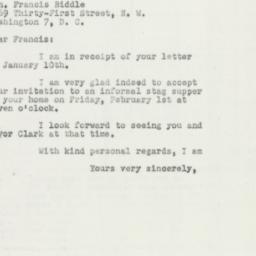 Letter : 1952 January 14