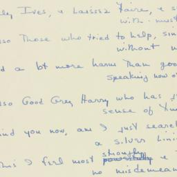 Letter : 1946 November 6