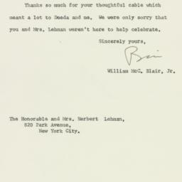 Letter : 1961 September 28
