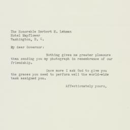Letter : 1942 December 1