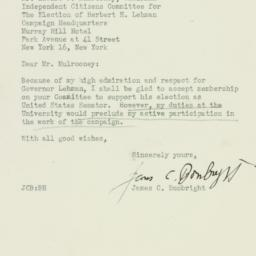 Letter : 1946 October 18
