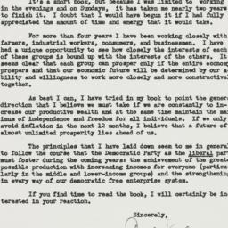 Letter : 1946 May 16