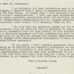 Letter : 1950 October 7