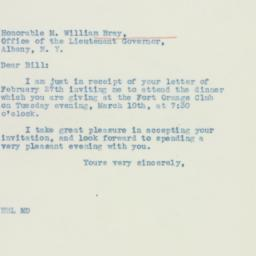Letter : 1936 March 2