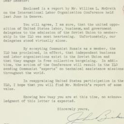 Letter : 1954 October 11