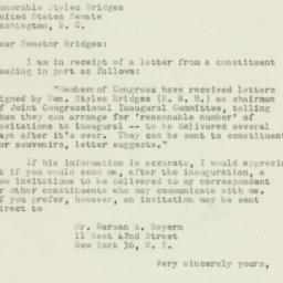 Letter : 1952 December 20