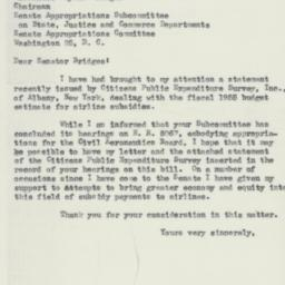 Letter : 1954 May 19