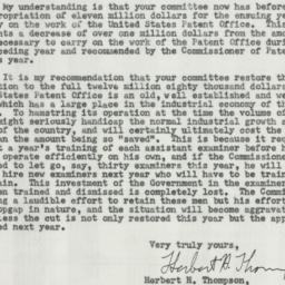 Letter : 1954 June 7