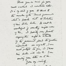 Letter : 1949 September 28