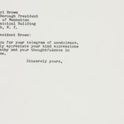 Letter: 1964 January 14