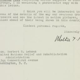 Letter : 1944 August 11