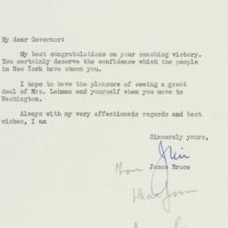 Letter : 1949 November 14