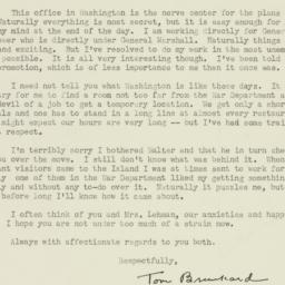 Letter : 1942 April 2