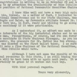 Letter : 1954 December 13