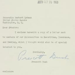 Letter : 1953 October 23