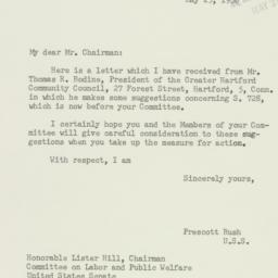 Letter : 1956 May 25