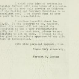 Letter: 1953 February 11