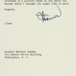 Letter : 1953 April 27
