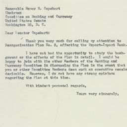 Letter: 1953 May 27