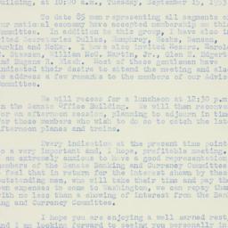 Letter: 1953 August 21