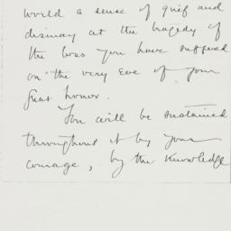 Letter : 1932 December 31