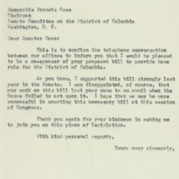 Letter : 1953 February 13